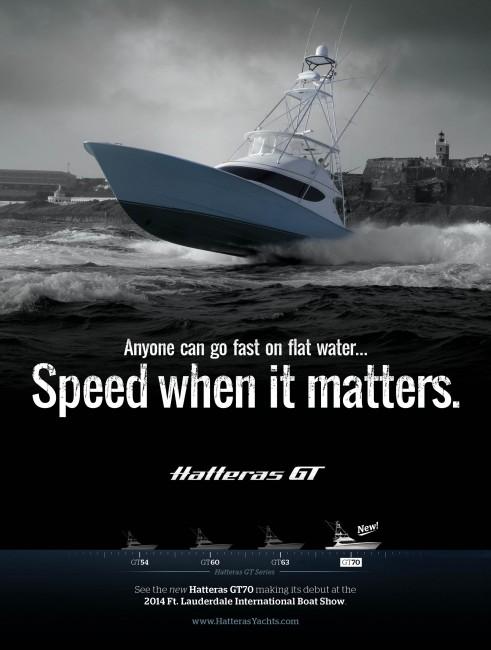 Hatteras GT Ad 1 Marlin